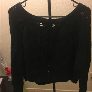 Barr III black sweater Size L